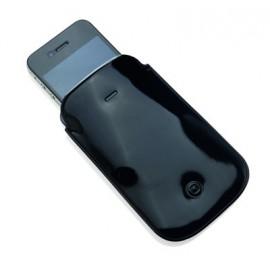 Pochette téléphone PVC noir