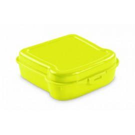 Boîte à goûter jaune