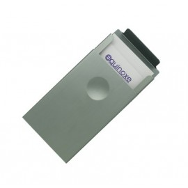 Etui porte cartes ou cigarettes aluminium anodisé gris