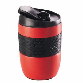 Mug isotherme 260 ml rouge