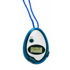 Chronomètre montre et réveil bleu