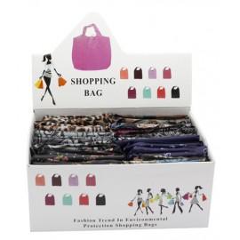Présentoir de shopping bags
