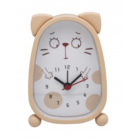 Cartoon cat alarm clock, sweep movement