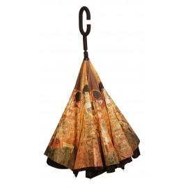 Parapluie inversé tableau style Klimt