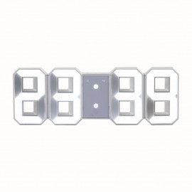 Digital clock display Led fontion alarm clock to ask or mural