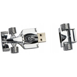Metal 32GB usb key racing car shaped
