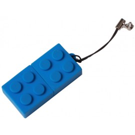 Blue USB key 16 GO