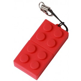 Red USB key 16 GO