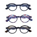 Round type of glasses X 4 scale colors