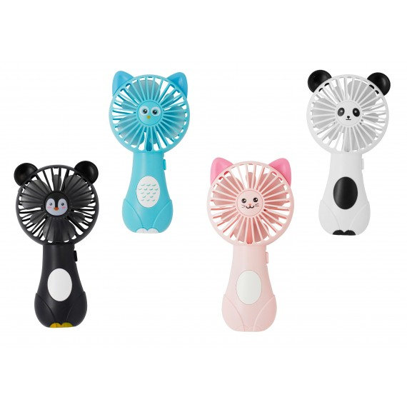 Minis ventilateurs designs animaux