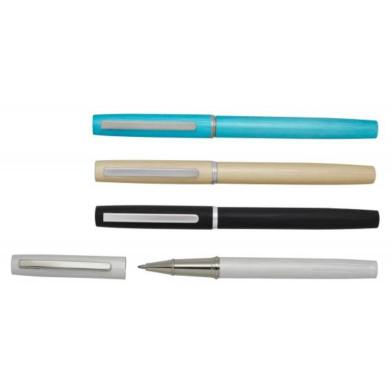 Metal roller, mat finish, 4 assorted colors, x 24 pcs