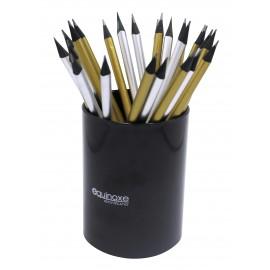 Crayon à papier dorés et argentés, assortis x 36 pcs