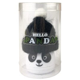 Taille crayons panda avec bonnet x 24 pcs