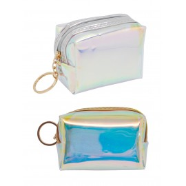 Coin Purse in Iris Vinyl assorted colors