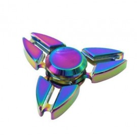 Hand spinner 4 hélices couleurs pétrol x 24
