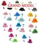 GRAND MODEL pechule reversible pieuvre