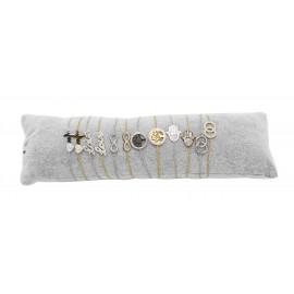 Bracelets chaînette acier ou doré, motifs assortis love, infini, arbre, main X12