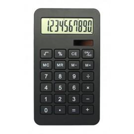 Calculatrice noire double énergie 10 chiffres
