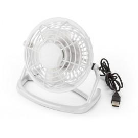 Ventilateur blanc en plastique avec cordon USB